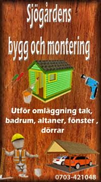 Sjögårdens bygg och montering